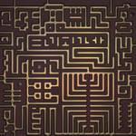 Seamless texture: Circuit