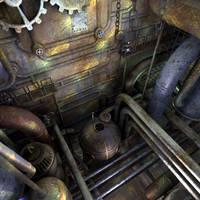 Derelict Drydock by ark4n