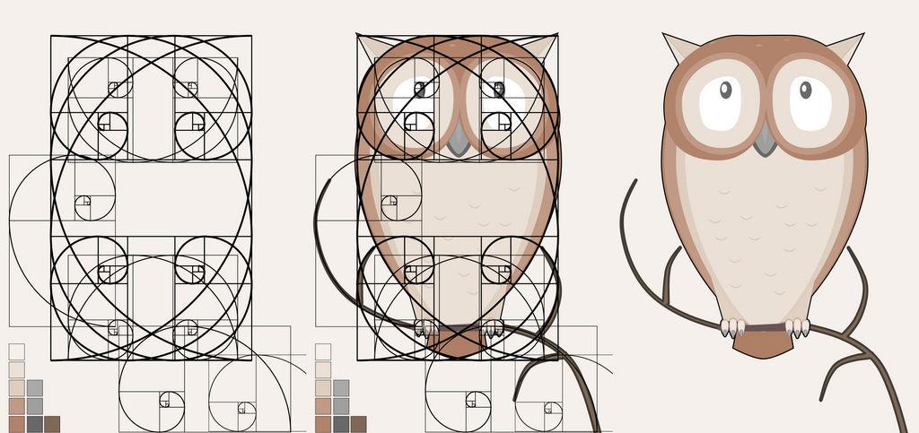 The Fibonacci Little Owl by ark4n