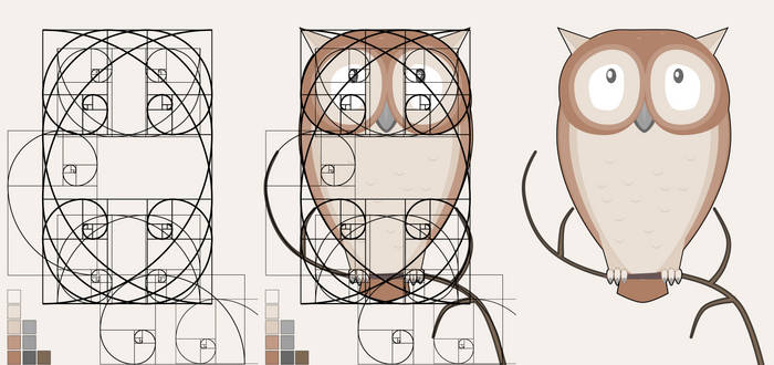 The Fibonacci Little Owl
