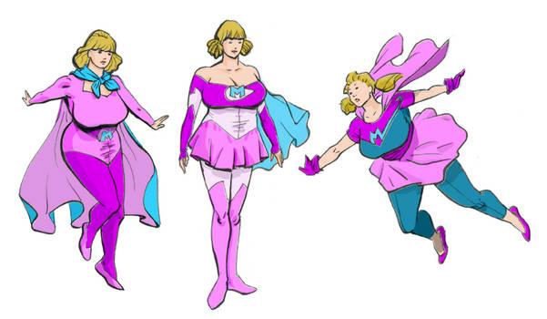1993 - Meteorgirl Alternative uniforms