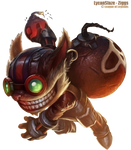 LoL Ziggs Render