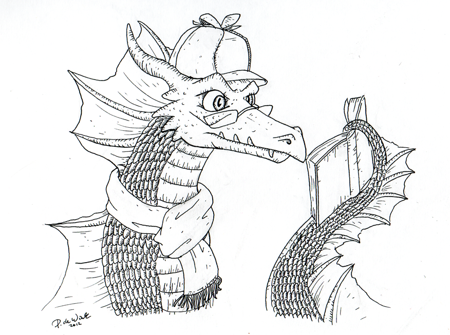 Smauglock Reading WIP by Eltharion