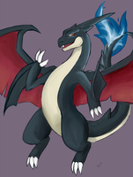 Shiny Mega Charizard by Eltharion
