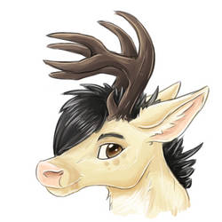Oh dear it's a deer by Eltharion