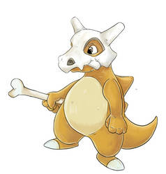 Cubone by Eltharion