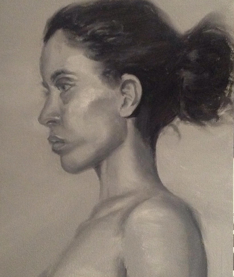 Grisaille Portrait by RobSThompson