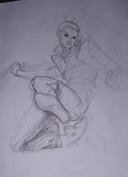 Wushu Action Study