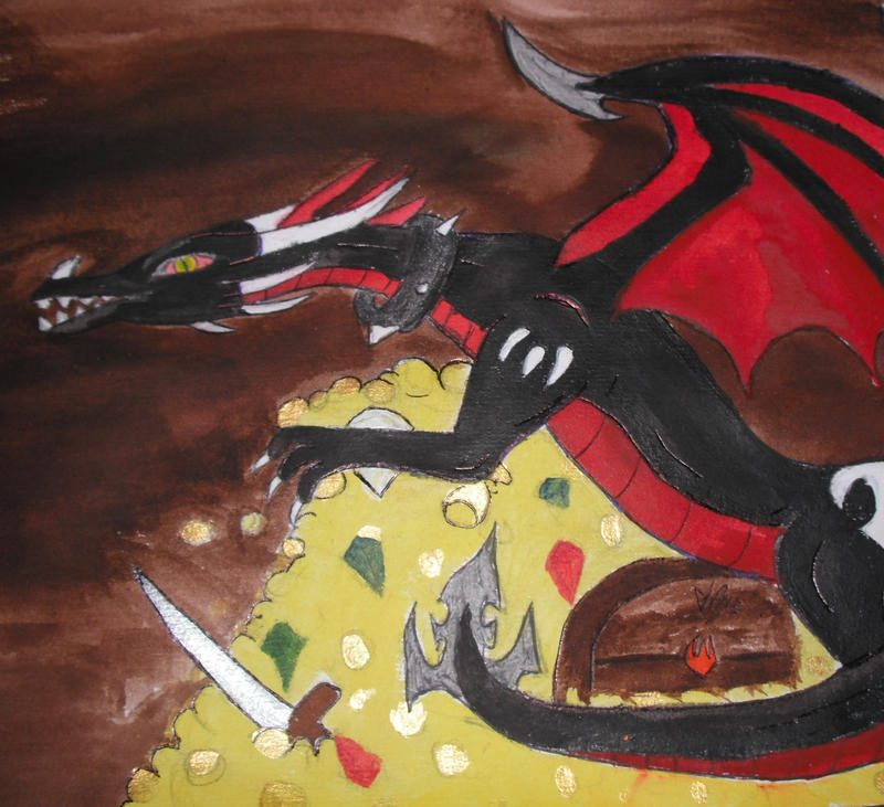 ~Art trade~ Nero's Treasure. by DreamDrifter91