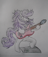 Rockin' Rarity by DreamDrifter91