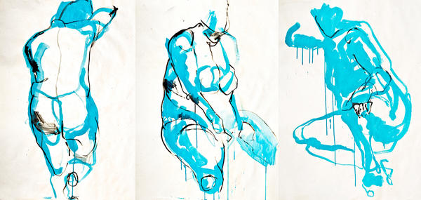 Sketches, the Cyan by temabina