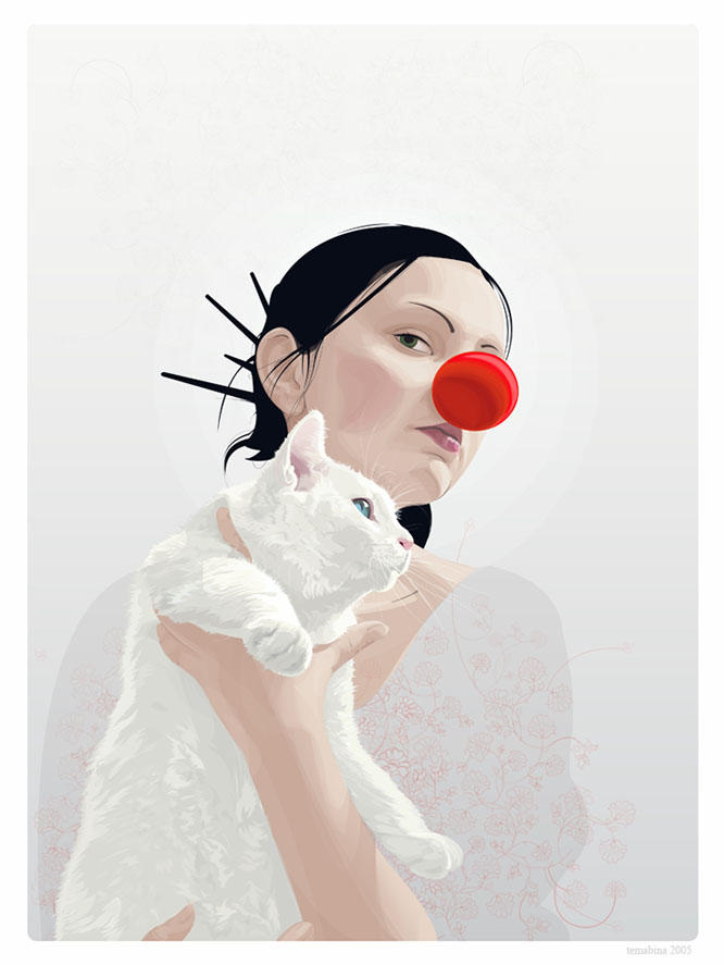 Red Nose Friends Vector by temabina