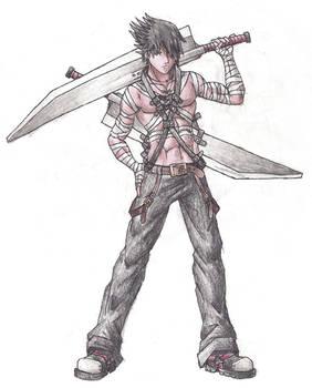 Random Guy with Swordz