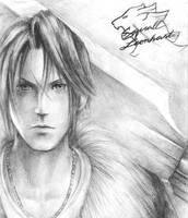 Squall Leonhart by friedChicken365