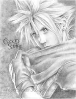 Cloud Strife - Crisis Core by friedChicken365