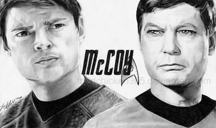 Dr. McCoy: Kelley + Urban by friedChicken365