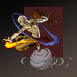 Avatar Aang by friedChicken365