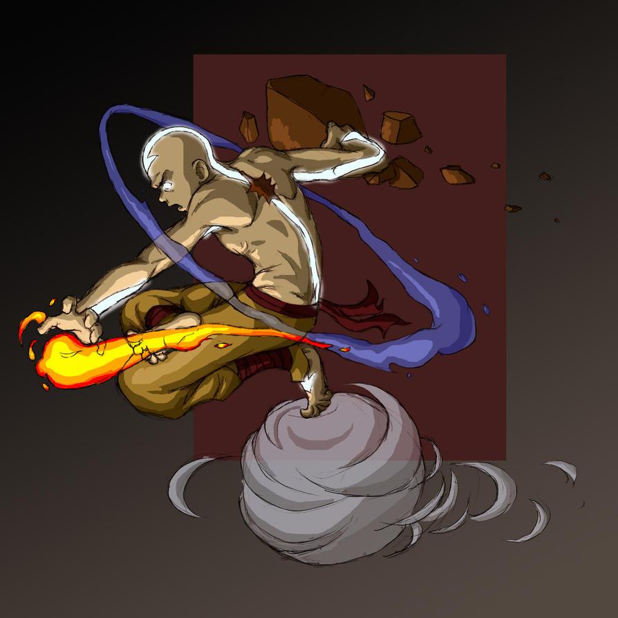 Avatar Aang: Avatar Aang By FriedChicken365 On DeviantArt