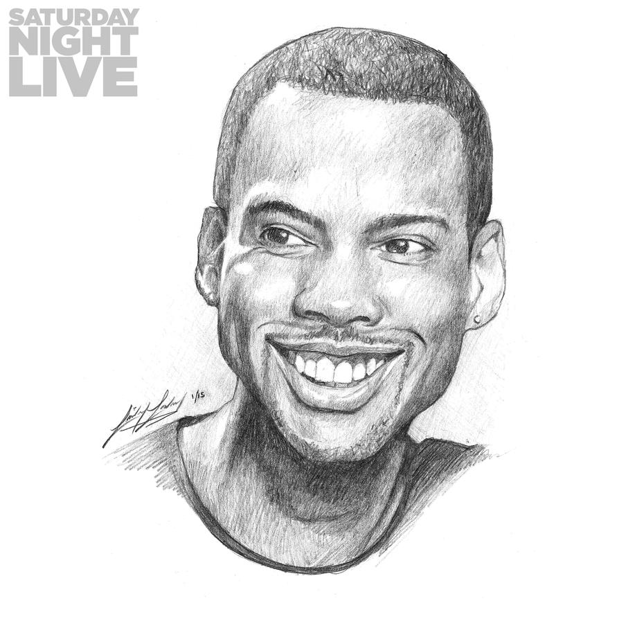 SNL 40: Chris Rock by friedChicken365