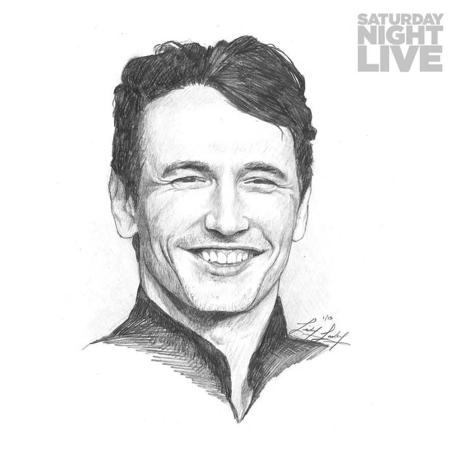 SNL 40: James Franco by friedChicken365