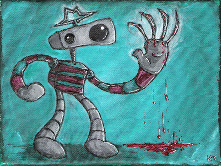 Freddy bot by Too-Much-Bowser