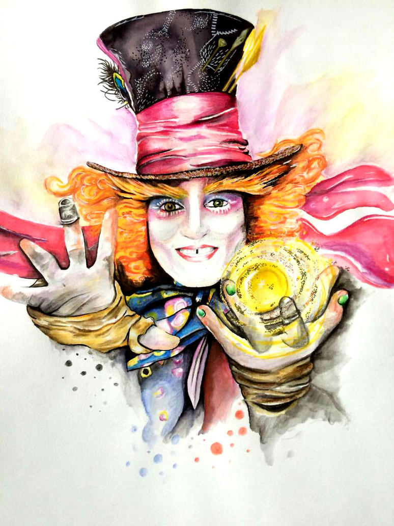 The Mad hatter by HeartOfVampyre