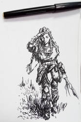 Nora Huntress Aloy Horizon Zero Dawn