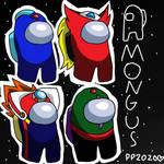Mega Man X in Among Us