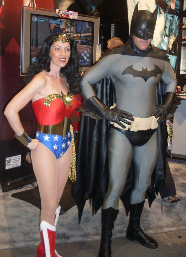 Batman And Wonder Woman by mjac1971