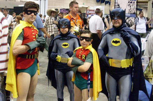 Classic Batman and Robin by mjac1971