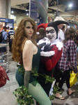 Poison Ivy and Harley