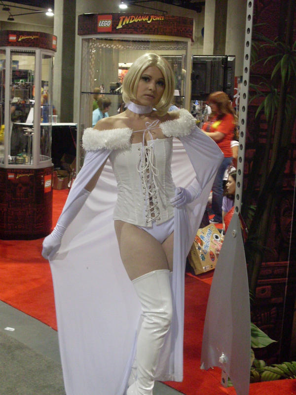 White Queen Emma Frost by mjac1971