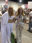 Emma Frost and Dazzler