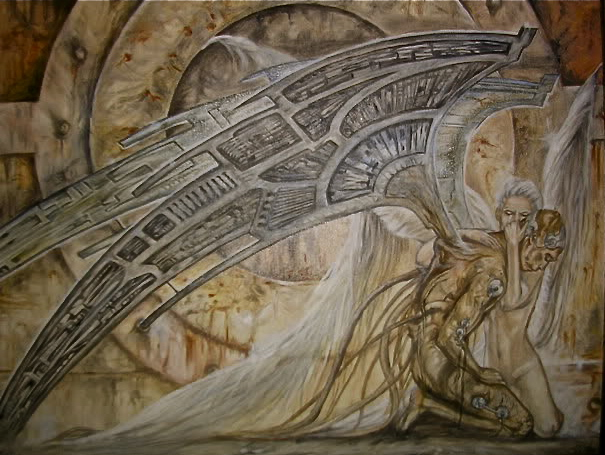 Repr. of Luis Royo's artwork by ellegottzi