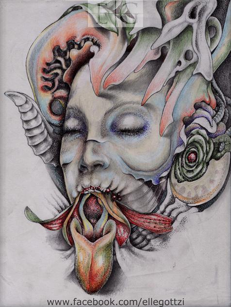 Orchidea by ellegottzi