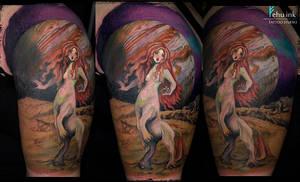 jupiter theme tattoo