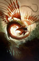 Exotic dragon by SimonDubuc