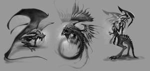 3 Creatures