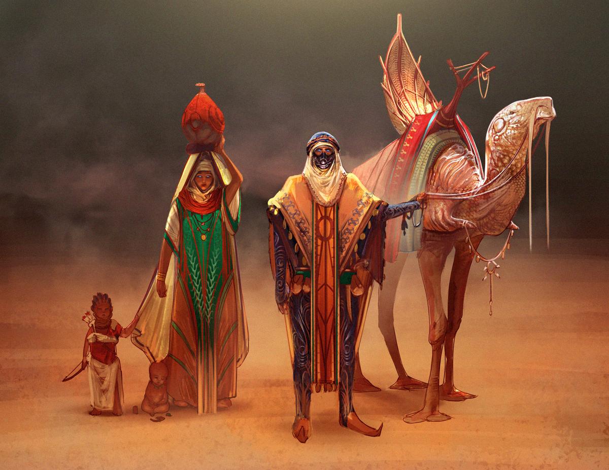 Dune redesign: Fremen by SimonDubuc