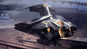 Dune redesign: guild navigator ship