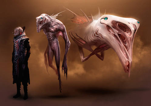 Dune redesign: guild navigator stages