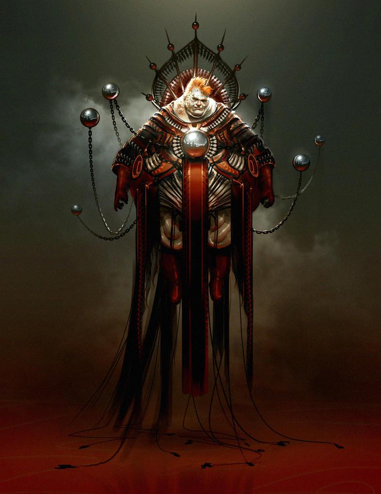 Dune redesign: Vladimir Harkonnen by SimonDubuc