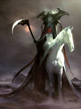 Horsewoman of death
