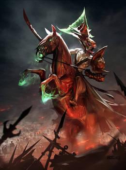 Horsewoman of war