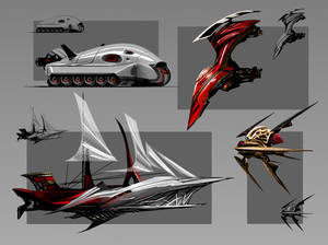 Dracula vehicles 2