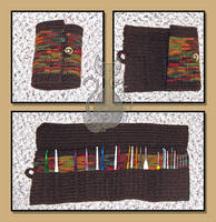 Crochet Hook Organizer by MyntKat