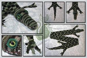 Croco-Scarf by MyntKat
