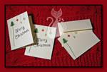 Christmas Cards Set 2 by MyntKat
