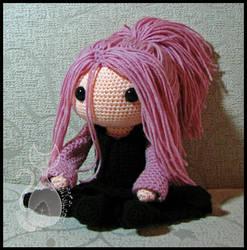 Pink Hair Doll by MyntKat