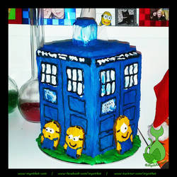 The Minions Have The Phonebox by MyntKat